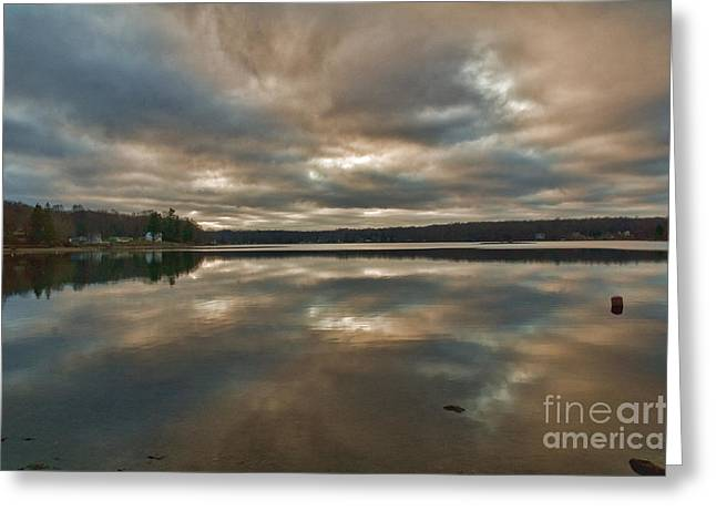 Columbia Lake Greeting Card