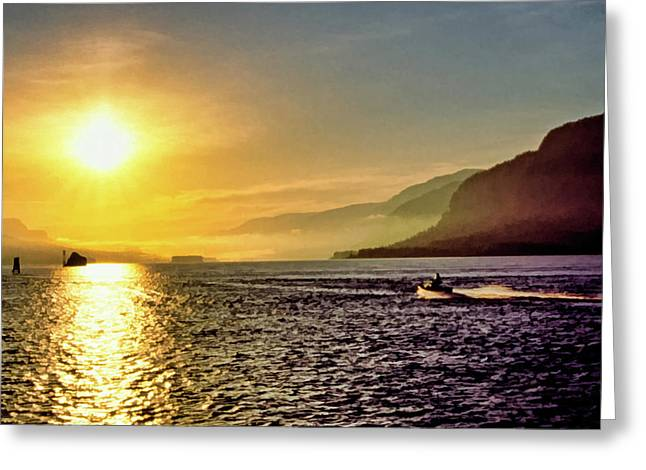 Columbia River 001 Greeting Card