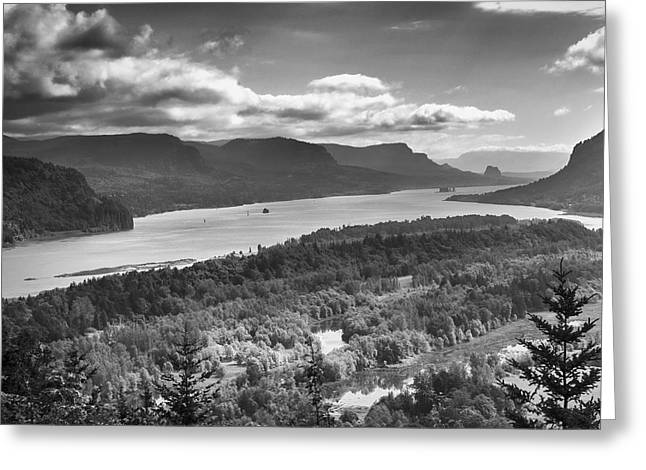 Columbia River Gourge Greeting Card