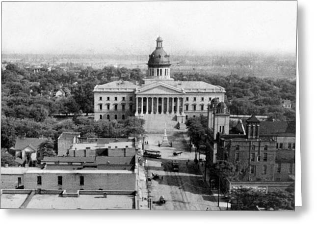 Columbia South Carolina - State Capitol Building - C 1905 Greeting Card