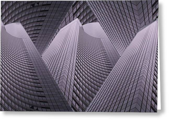 Columbia Tower Seattle Wa 2 Greeting Card by Tim Allen