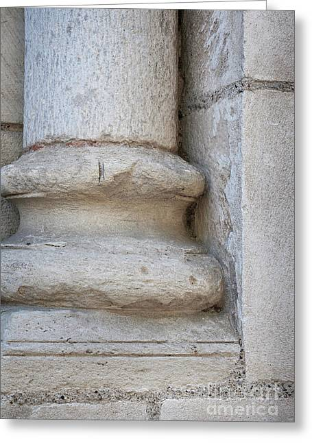 Column Plinth Greeting Card by Elena Elisseeva