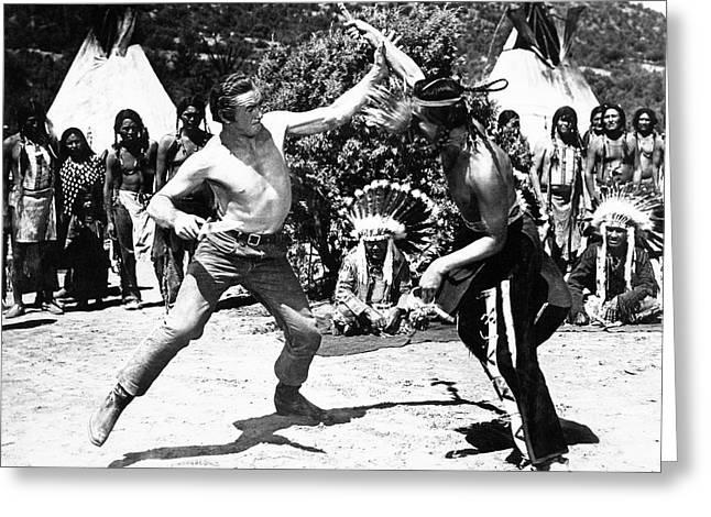 Comanche Territory 1 Greeting Card by Bob Bradshaw