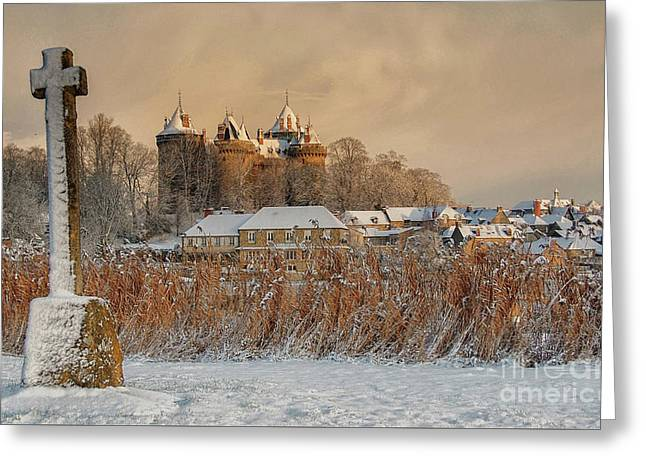 Combourg Castle 2 Greeting Card