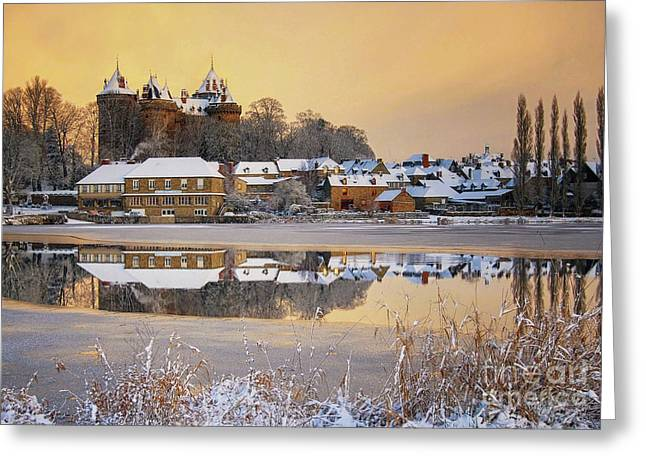 Combourg Castle  Greeting Card