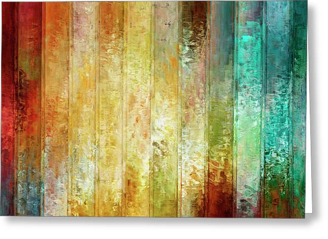 Come A Little Closer - Abstract Art Greeting Card