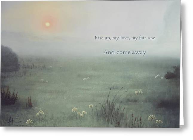 Come Away  Greeting Card by Hannah Harris