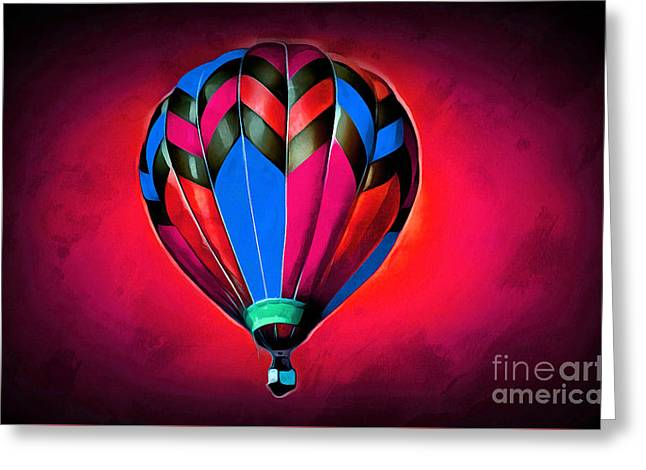 Come Away With Me IIi Greeting Card by Krissy Katsimbras