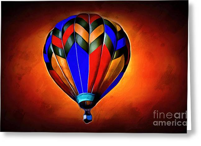 Come Away With Me Greeting Card by Krissy Katsimbras