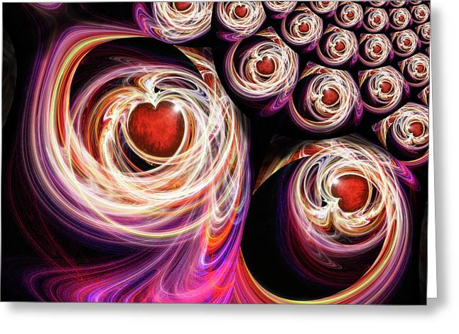 Come Be With Me And Be My Love Greeting Card by Michael Durst