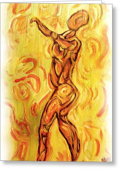 Come Dance With Me Greeting Card by Shelley Bain
