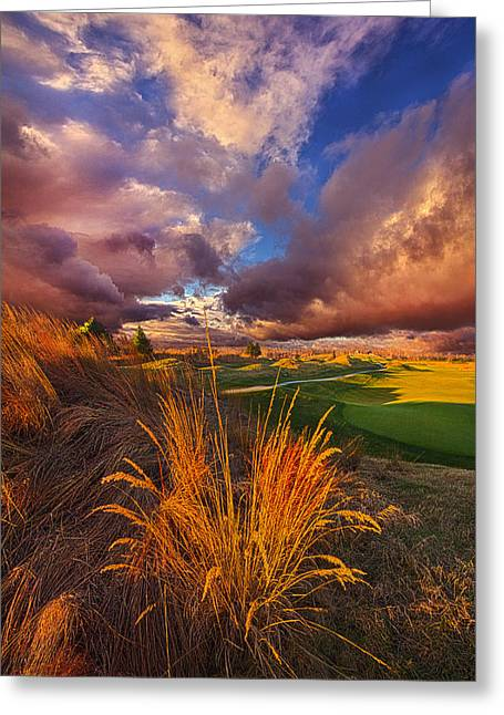Come Dance With The West Wind Greeting Card by Phil Koch
