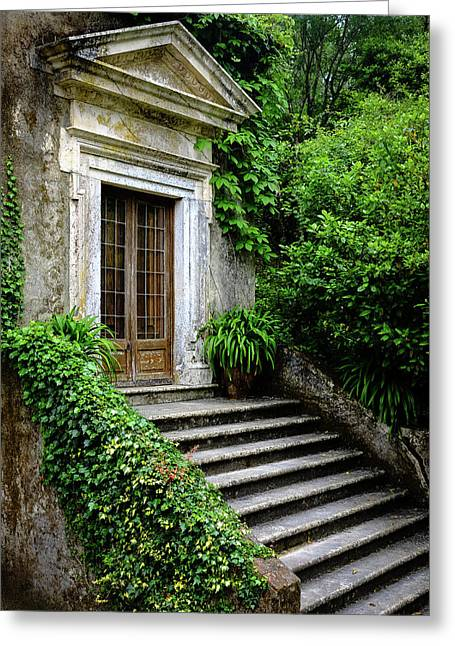Greeting Card featuring the photograph Come On Up To The House by Marco Oliveira