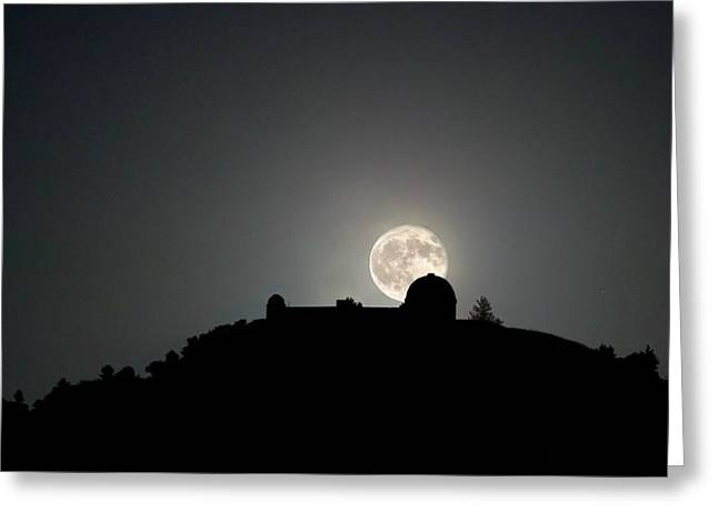 Come On You Stranger, And Shine In On Lick Observatory Greeting Card