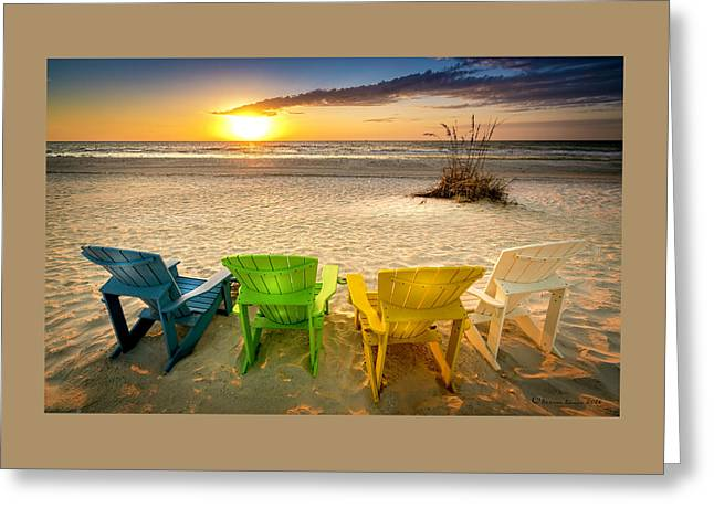 Come Relax Enjoy Greeting Card by Marvin Spates