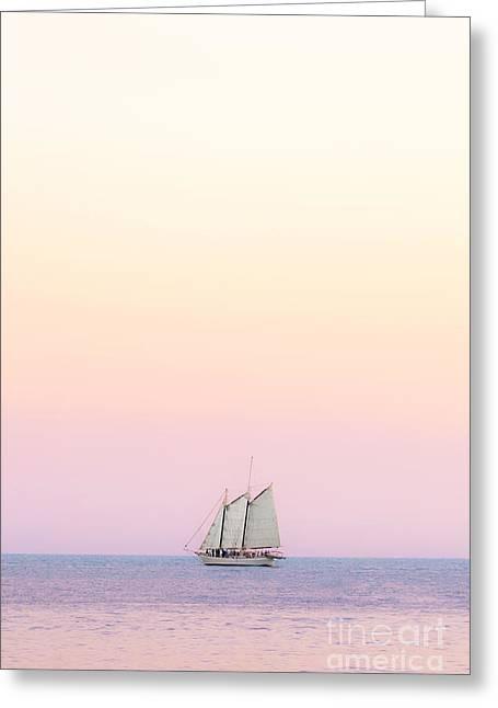 Come Sail Away Greeting Card by Evelina Kremsdorf