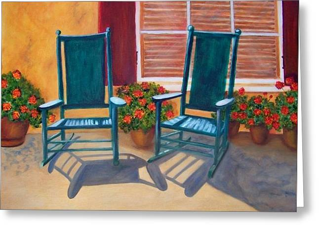 Come Sit A Spell. Sold Greeting Card