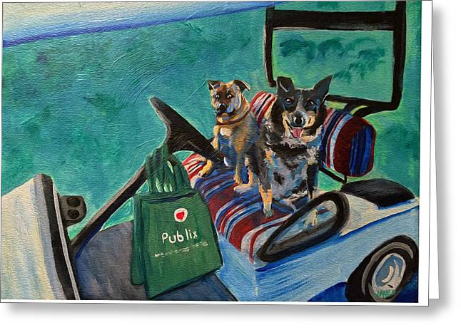 Come With? Greeting Card by Maura Satchell