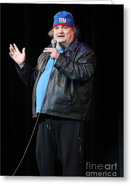 Comedian Artie Lange Greeting Card by Concert Photos