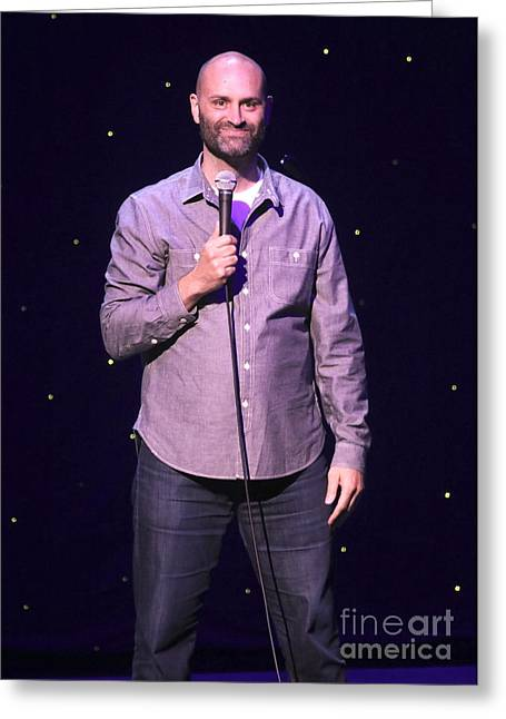 Comedian Ted Alexandro Greeting Card by Concert Photos