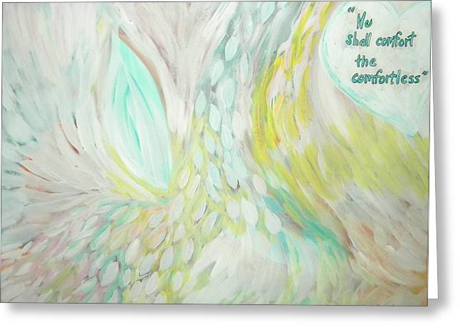 Comfort Greeting Card by Cassandra Donnelly
