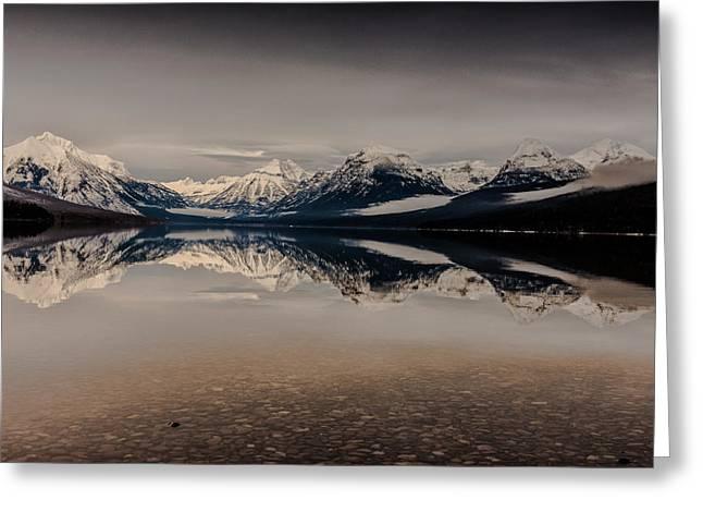 Lake Mcdonald Glacier National Park Greeting Card