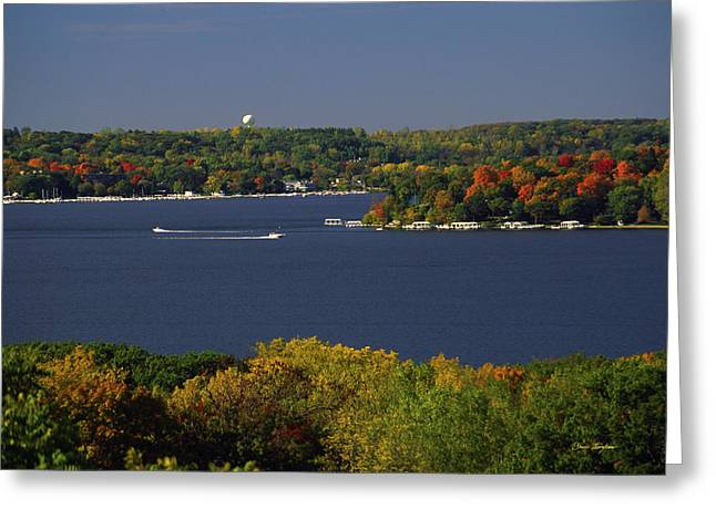 Coming And Going - Lake Geneva Wisconsin Greeting Card