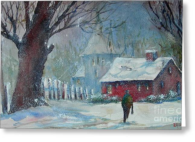 Coming Home 2 Greeting Card by Joyce A Guariglia
