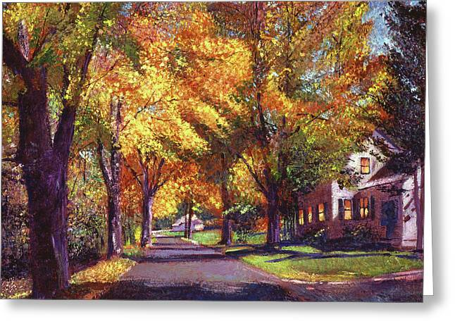 Coming Home Greeting Card by David Lloyd Glover