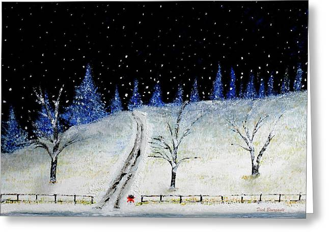 Coming Home For Christmas Greeting Card