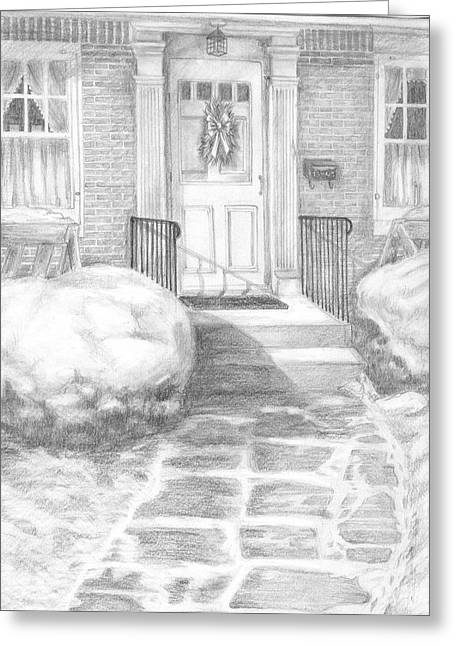 Coming Home Greeting Card by Marlene Chapin