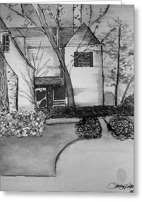 Coming Home Greeting Card by Rebecca Tacosa Gray