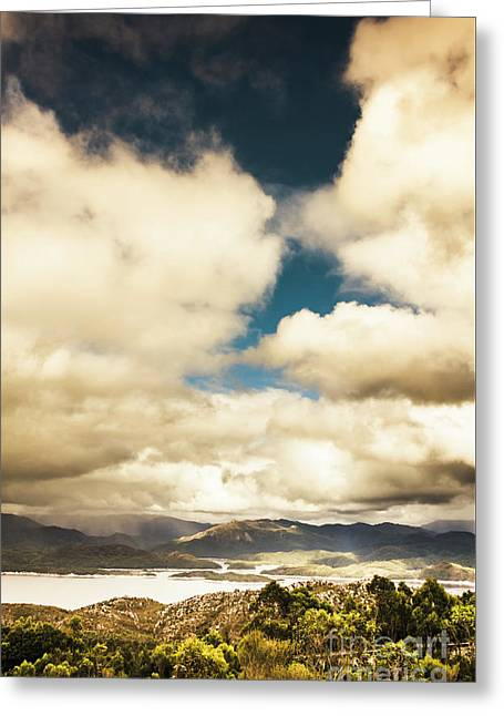 Coming Storms Greeting Card by Jorgo Photography - Wall Art Gallery