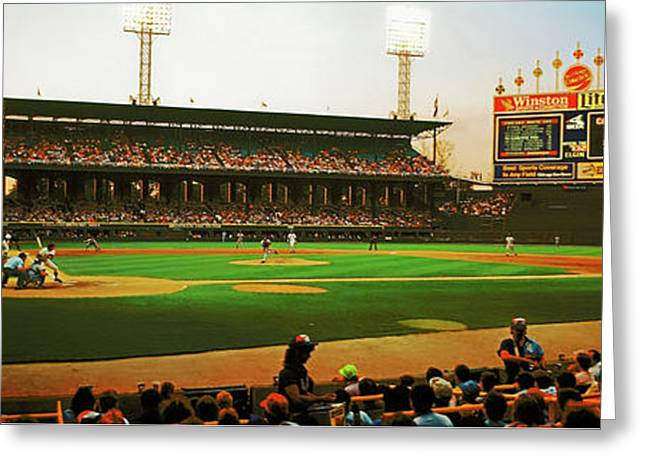 Comiskey Park  Greeting Card
