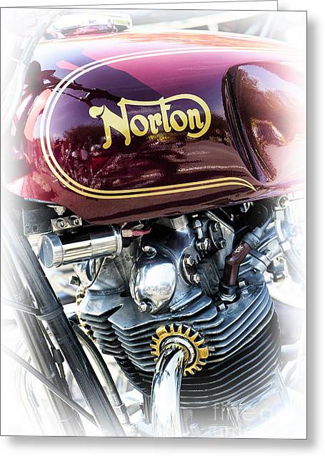 Commando 850 Greeting Card