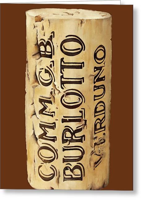 Comm.gb Burlotto Greeting Card by Danka Weitzen