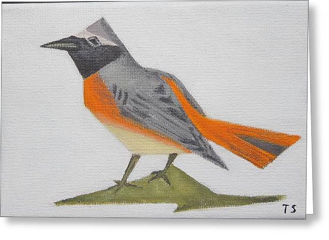 Common Redstart Greeting Card