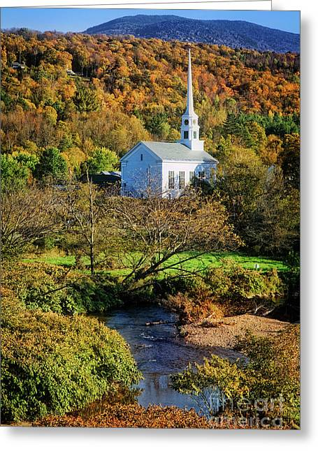 Greeting Card featuring the photograph Community Church by Scott Kemper