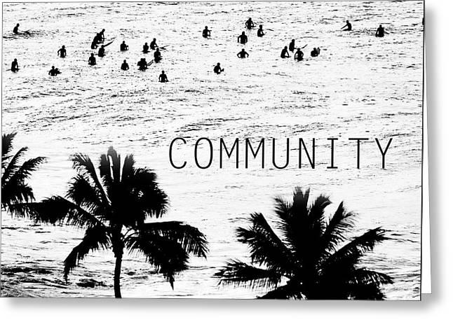 Community. Greeting Card