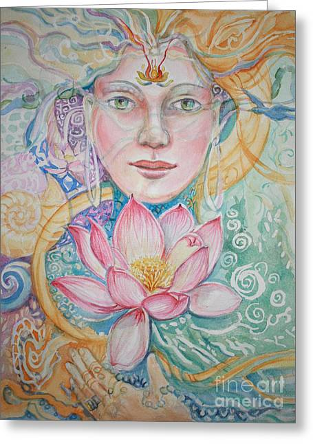 Compassion Greeting Card by Catherine Moore
