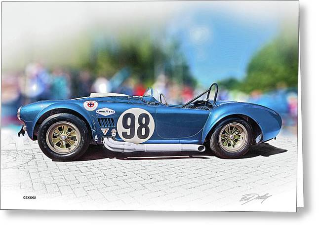 Competition Cobra Greeting Card