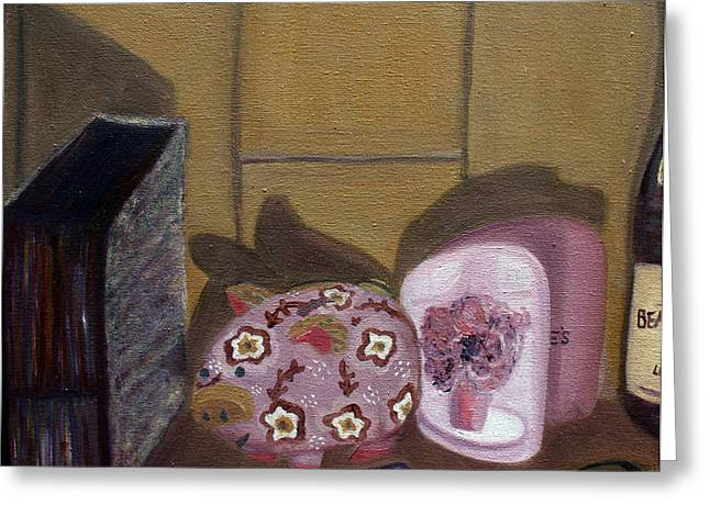 Complementary Still Life Greeting Card by Hannah Curran