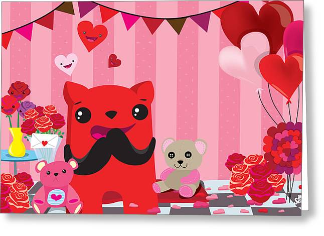 Completly  In Love Greeting Card