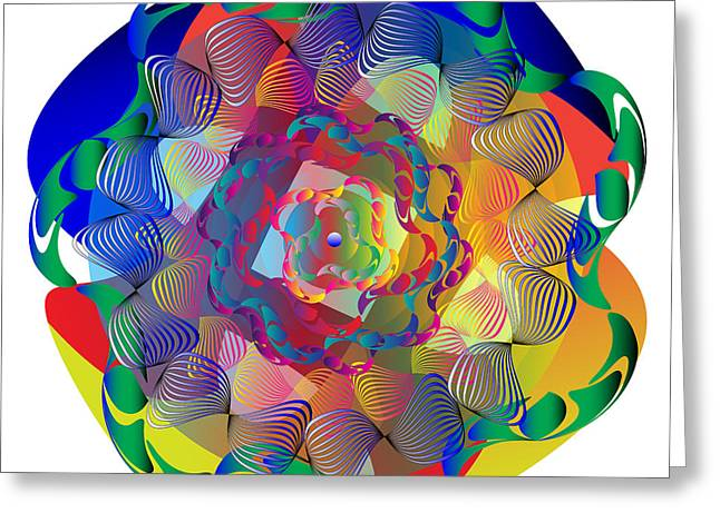 Complexical No 1705 Greeting Card