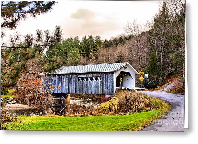Comstock Bridge Montgomery Greeting Card