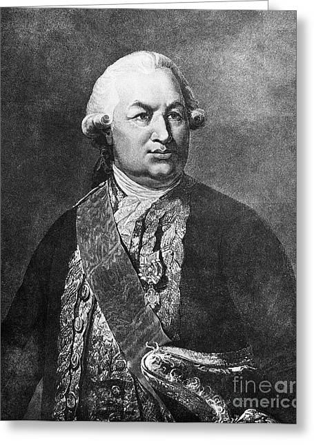 Comte De Grasse (1722-1788) Greeting Card