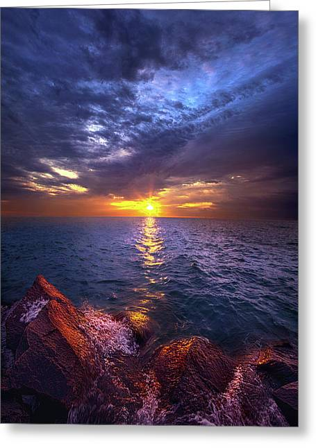 Concensus Of The Stones Greeting Card by Phil Koch