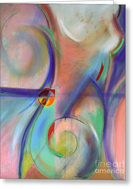 The Moment Greeting Card by Jodie Marie Anne Richardson Traugott          aka jm-ART