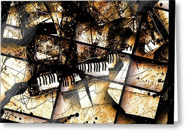 Concerto V Greeting Card