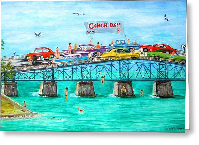 Conch Day Greeting Card